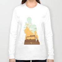 gta Long Sleeve T-shirts featuring GTA V - TREVOR PHILIPS by ahutchabove
