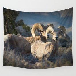 Desert Big Horn-Joshua Tree National Park Wall Tapestry