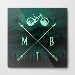 MTB Nomad Metal Print