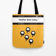 No028 MY The Stranger Book Icon poster Tote Bag