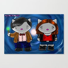 Hello Doctor and Amy Canvas Print