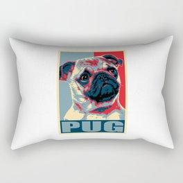 My Pug For President Rectangular Pillow