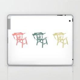 Broken Chair Trio Laptop & iPad Skin