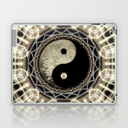Yin Yang Geometry Mandala V1 Laptop & iPad Skin
