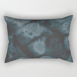 Muted Emerald Rectangular Pillow