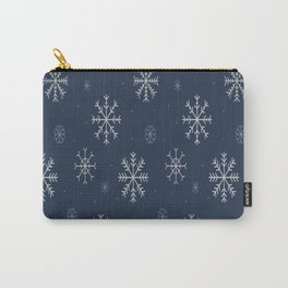 Artistic snowflakes pattern Carry-All Pouch