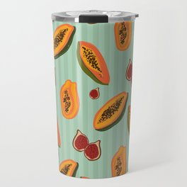 Papayas & Figs Travel Mug