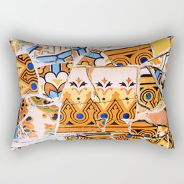 Gaudi Series - Parc Güell No. 4 Rectangular Pillow