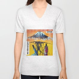 The Snows of Kilimanjaro Unisex V-Neck
