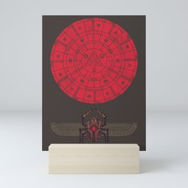Sacred Sun Mini Art Print