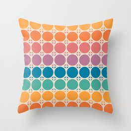 Boca Connections Throw Pillow