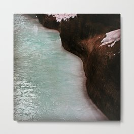 River Flow Metal Print