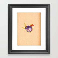 Spyro Framed Art Print