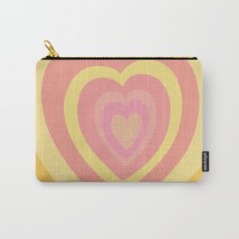 Love Me Like You Do - yellow orange Carry-All Pouch