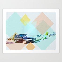 Parking Art Print
