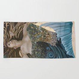 Mermaid Bliss Beach Towel