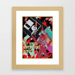 The last general hyper light drifter Framed Art Print