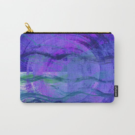 Jala (Water) Abstract Carry-All Pouch
