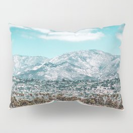 Houses are not allowed past the middle of that mountain. Pillow Sham