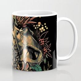 Skull Flora Coffee Mug