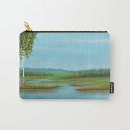 Creek in the field Carry-All Pouch