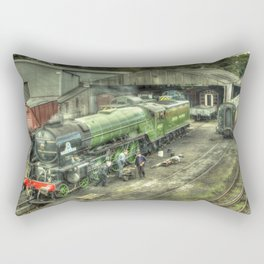 Tornado at Wansford Rectangular Pillow