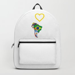 The Love Of South America Backpack