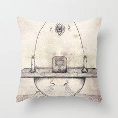 Tarot: I - The Magician Throw Pillow