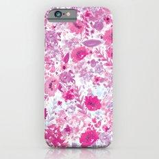 Floral Fuchsia iPhone 6s Slim Case