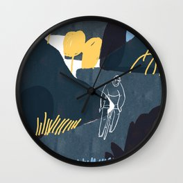 endless round, endless roll Wall Clock