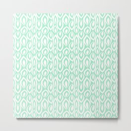 Leafyrific-Fresh Mint Metal Print