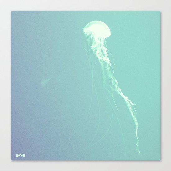 Pulsating Cnidaria. Canvas Print