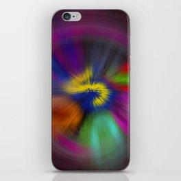 color circulo iPhone Skin