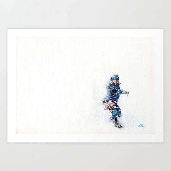 Travis Rice Art Print