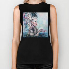 Yolandi The Rat Mistress 	 Biker Tank