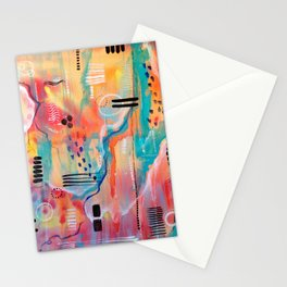 Song In My Mind Stationery Cards