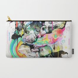 Ink Fight Colors Carry-All Pouch