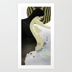 The Conception Of Bliss Art Print