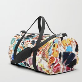 Mosaic of Barcelona VI Duffle Bag