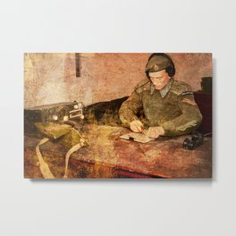 Great Siege Tunnels, Gibraltar Metal Print