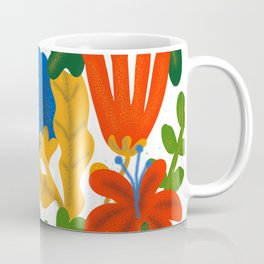 Tropical Flower Pattern II Coffee Mug