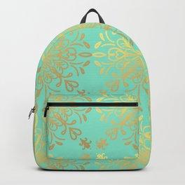 Elegance Golden Caramel Backpack