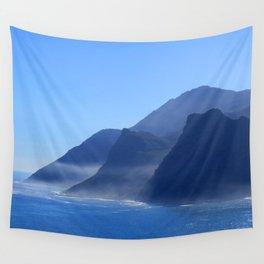 Misty Cliffs Wall Tapestry