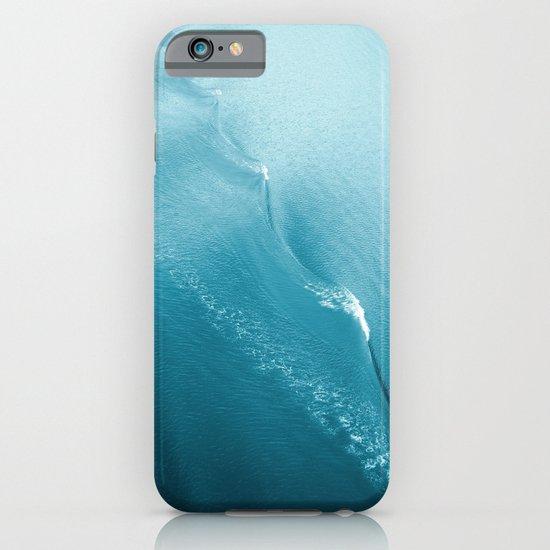 Ripple in Time (aqua) iPhone & iPod Case