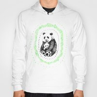 pandas Hoodies featuring PANDAS! by Sagara Hirsch