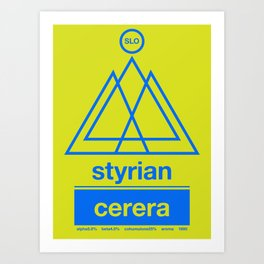 styrian cerera single hop Art Print