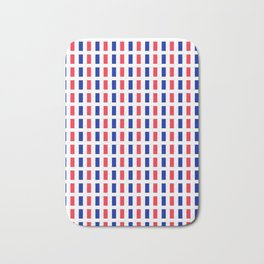 Flag of France 2- France, Français,française, French,romantic,love,gastronomy Bath Mat