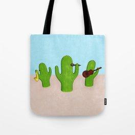 Cactus Band Tote Bag