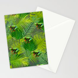 Frog Forest Stationery Cards