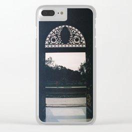 Door to the Garden, Chapultepec Castle, CDMX 35mm Film Clear iPhone Case